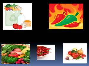 Sanskrit Names of Vegetables