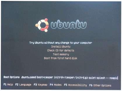 install ubuntu screenshot