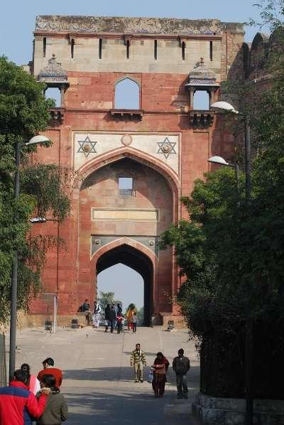 Entrance gate of Old Fort, Delhi