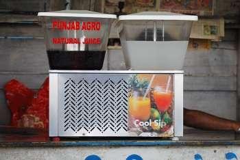 Juice vending machines