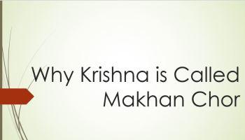 Why Krishna is Called Thakurji |