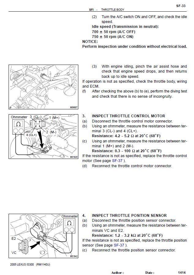 Etcs I Dbw System Troubleshooting 2jzgarage