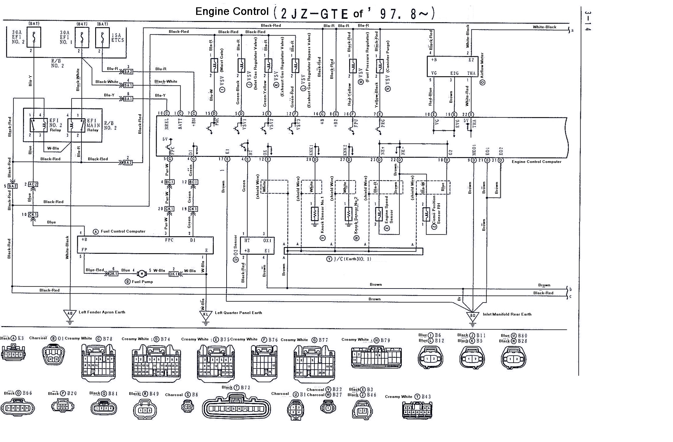 Diagram Toyota Supra Ignition Wiring Diagram Full