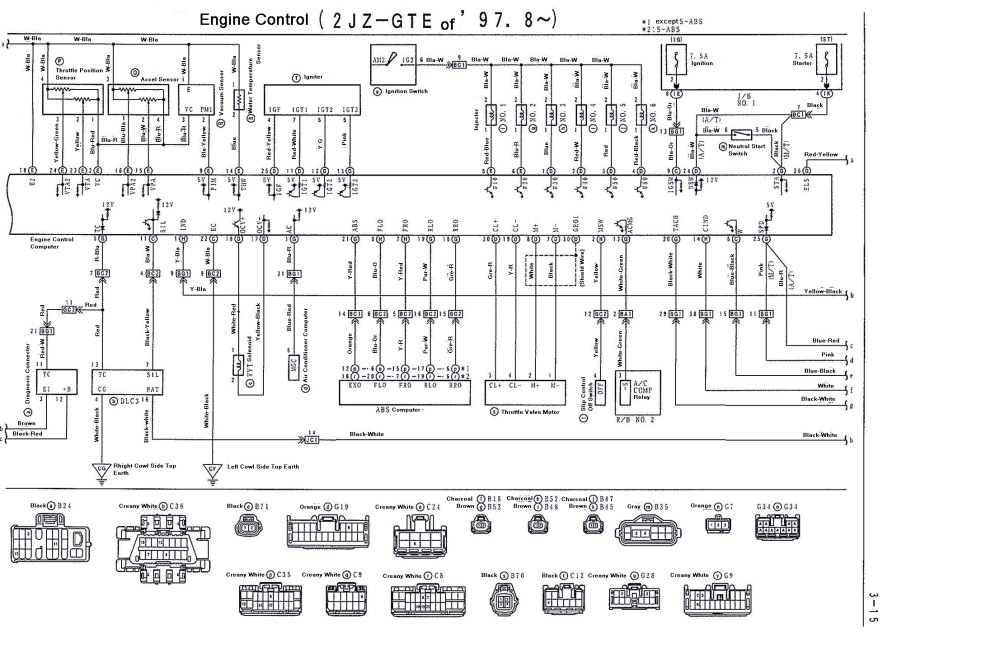 medium resolution of 2002 lexus is300 wiring diagram images gallery