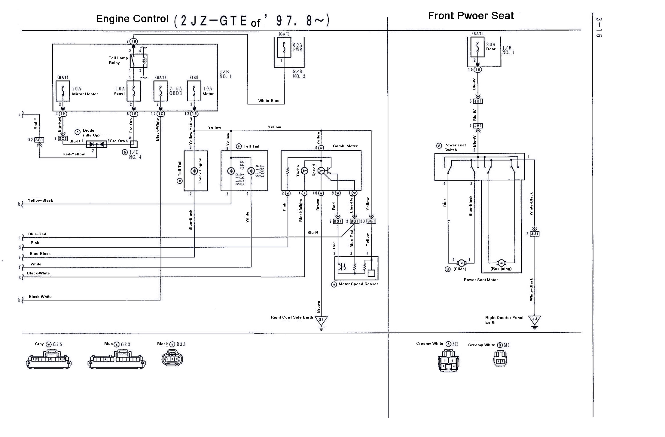 supra 2jzgte vvti wiring diagrams (97 8 02) 2jzgarage 2jzgte wiring diagram disclaimer i don't take any responsibility for these diagrams, these are referenced off 2 different diagrams i have of the 2jzgte vvti and some are in