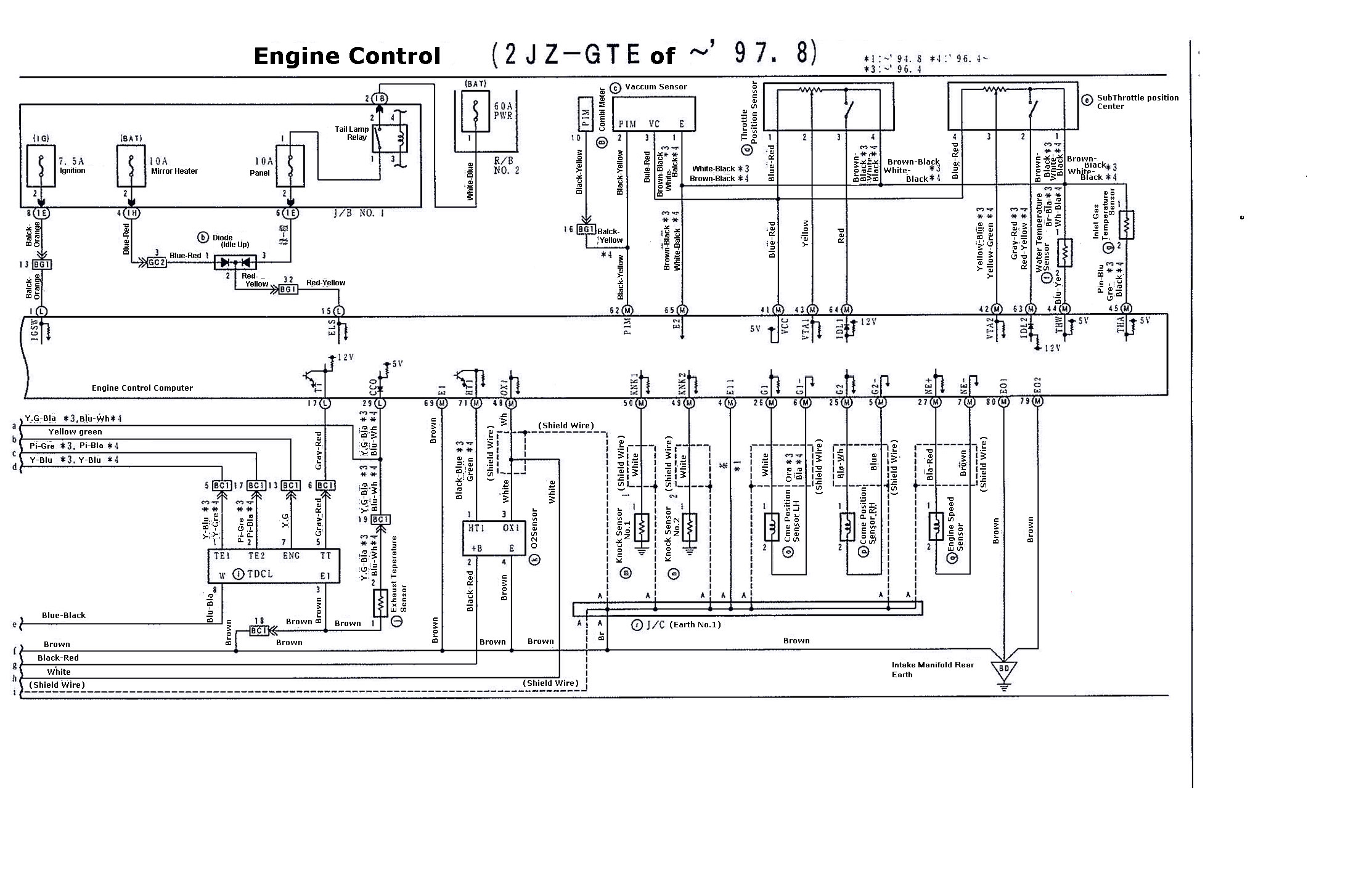 supra 2jzgte vvti wiring diagrams (97 8 02) 2jzgarage big 3 wiring diagrams disclaimer i don't take any responsibility for these diagrams, these are referenced off 2 different diagrams i have of the 2jzgte vvti and some are in