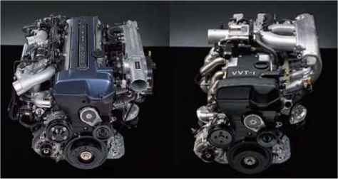 2JZ VVTi Engines
