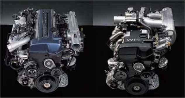 2JZ VVTi Engines