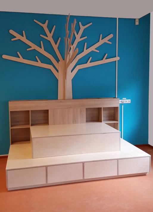 2kick  meubelfabriek  Houten boom