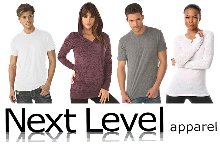 Next Level Customizable Apparel