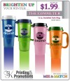 Winter Travel Mugs Promotional Item Specials