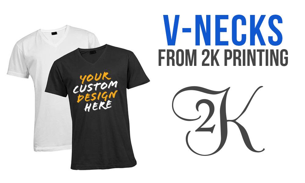 Make Your Own Custom V-Necks This Summer