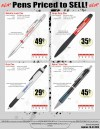 Specials on Custom Printed Pens