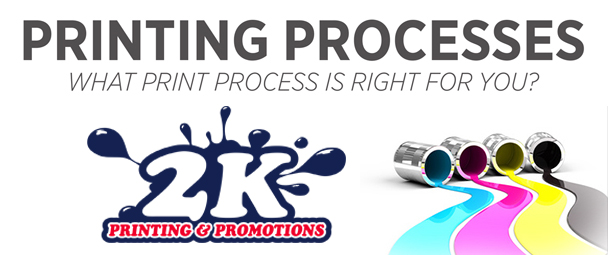 What Printing Process Is Right For Your Next Marketing Campaign?