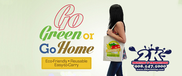 Customizable Eco-Friendly Tote Bags Make Going Green Easy And Stylish!