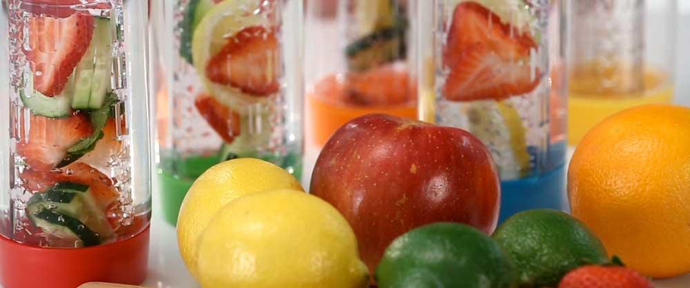 Water Bottles Fresh Fruit Fusion Bottle
