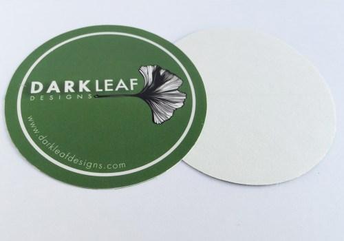 Dark Leaf Designs Sticker