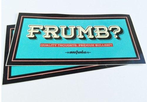 Frumb? Sticker #1
