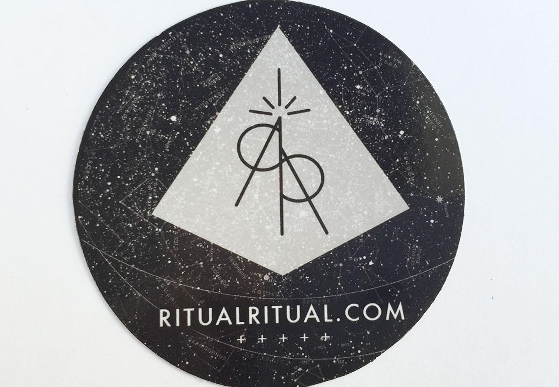 Ritual Ritual Round Stickers