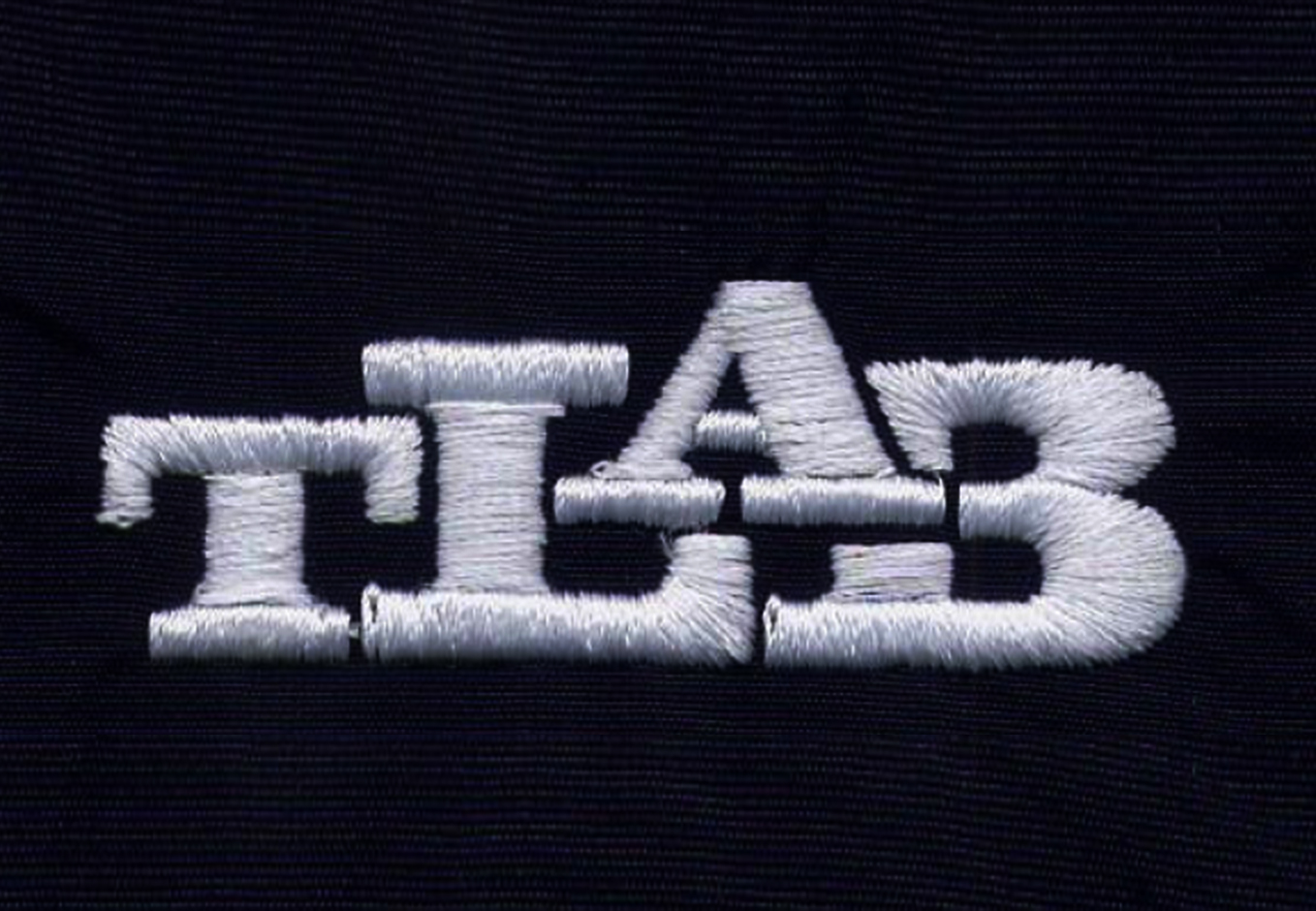 TLAB Hat Embroidery Closeup