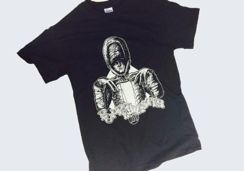 "Screen Printed ""Puppetmaster"" T-Shirt Design"
