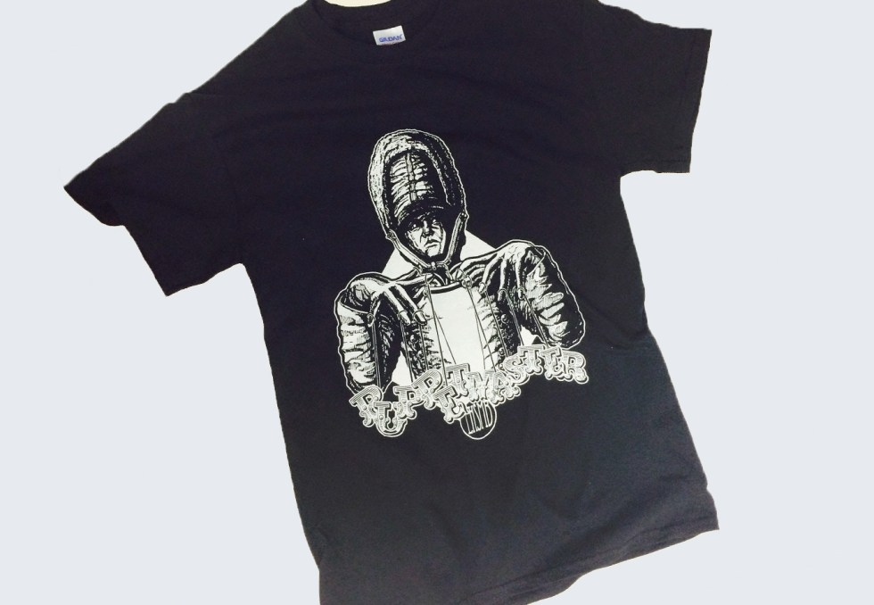 "Screen Printed ""Puppetmaster"" T-Shirt Design"