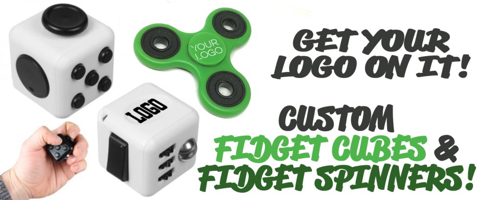 Custom Fidget Spinners And Fidget Cubes!