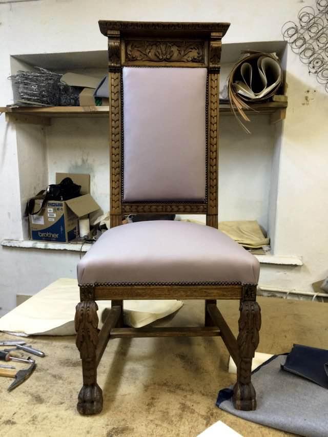 Кабинетный стул, дуб, XIX век.