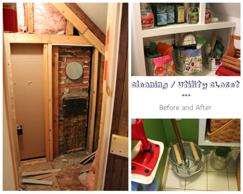 Cleaning/Utility Closet