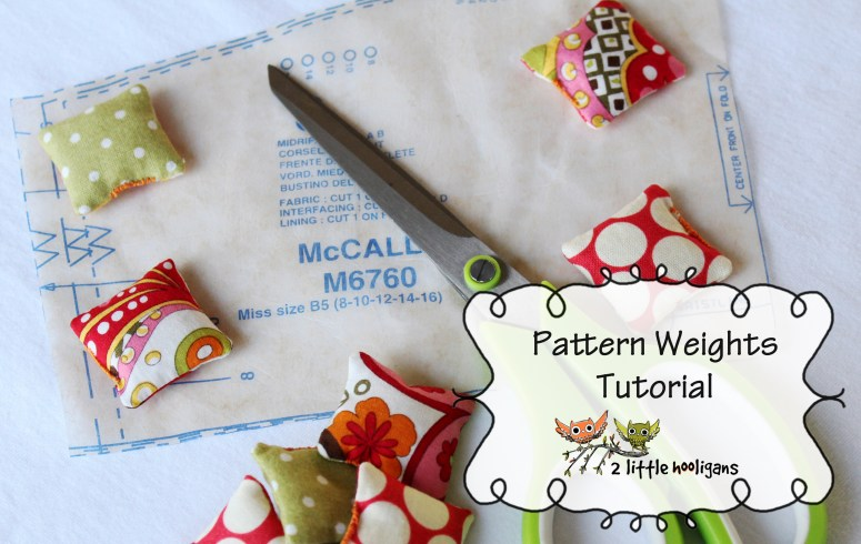 Fat Quarter Friday {Pattern Weights Tutorial}