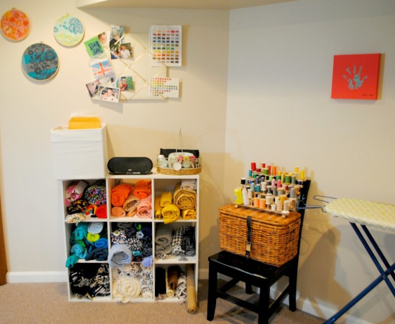 sewing spaces {stacey from oh boy oh boy}