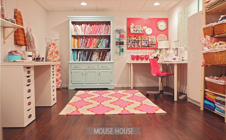 sewing spaces {hayley from welcome to the mouse house}