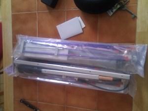 Arrow II Satellite Antennas in the Packaging