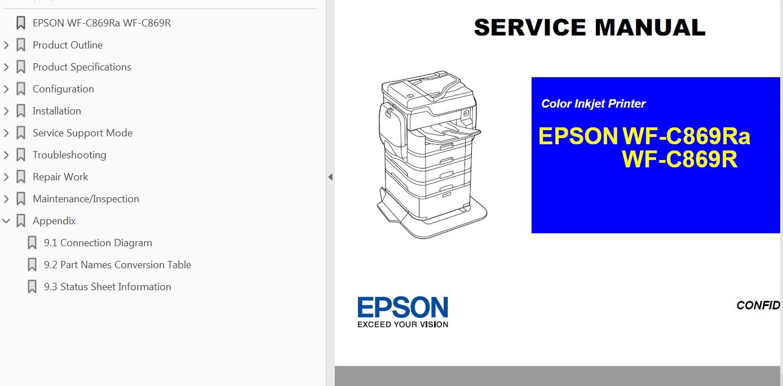 hight resolution of epson b wf c869r wf c869ra b printers