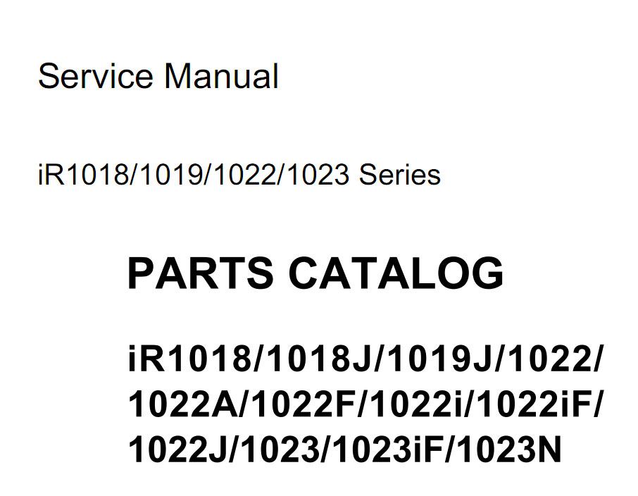 copier service manual