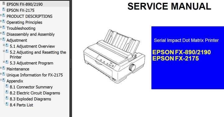 Parts For Epson Printers | Newmotorjdi co
