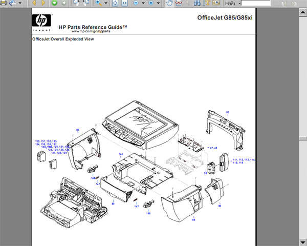 Hp Printer Schematics, Hp, Get Free Image About Wiring Diagram