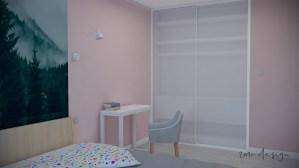 2MC design Nowoczesna sypialnia
