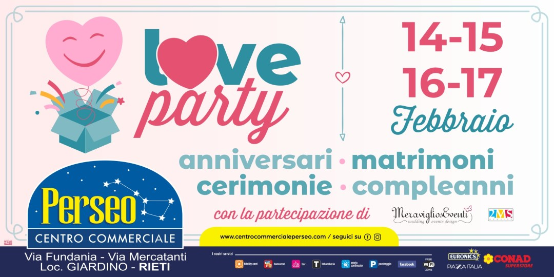 love party 6x3