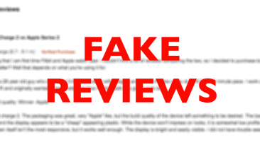 Fake Reviews