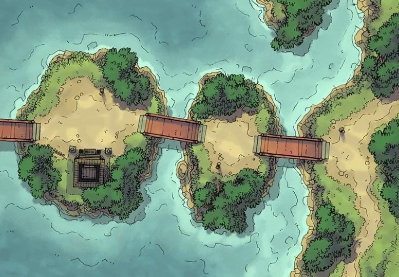 Island Crossing (color)