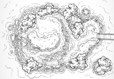 Island Plateau (lines)
