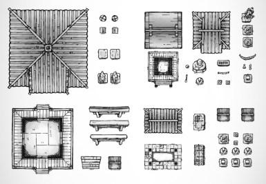 Shrine Essentials (b&w)