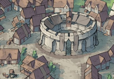 Greybanner City Map