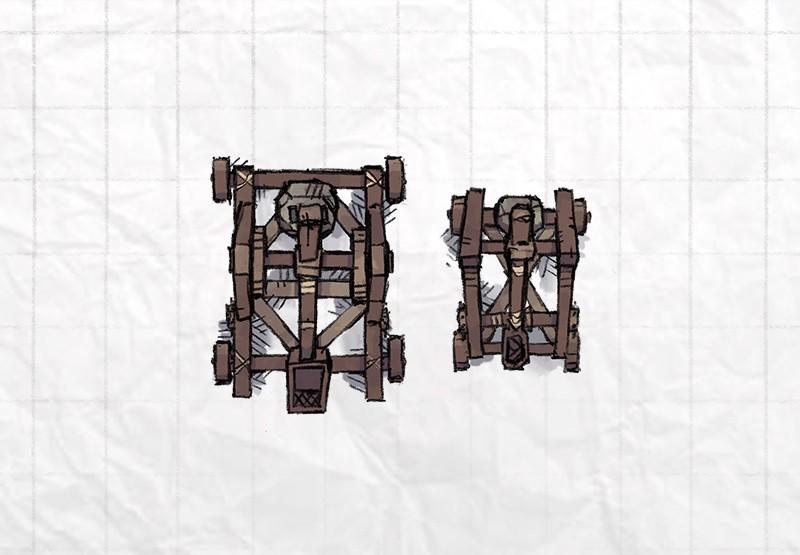 Castle Siege Weapons (catapult, mangonel)