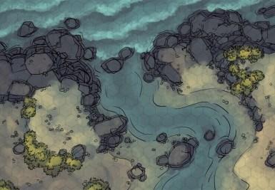 Rocky Coast (color hex grid)