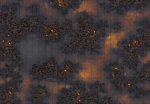 Haunted Marsh battle map