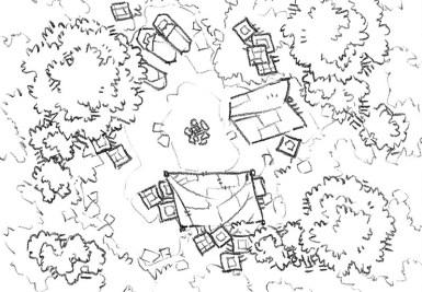 Roadside Camp battle map, lines