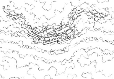 Roadside Rise Battle Map (lines)