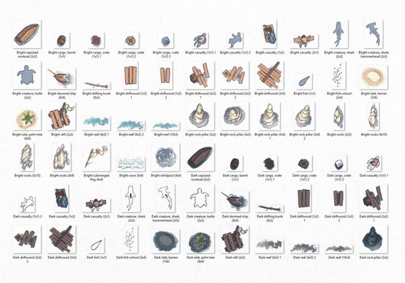 Ocean Surface RPG Map Assets, asset preview